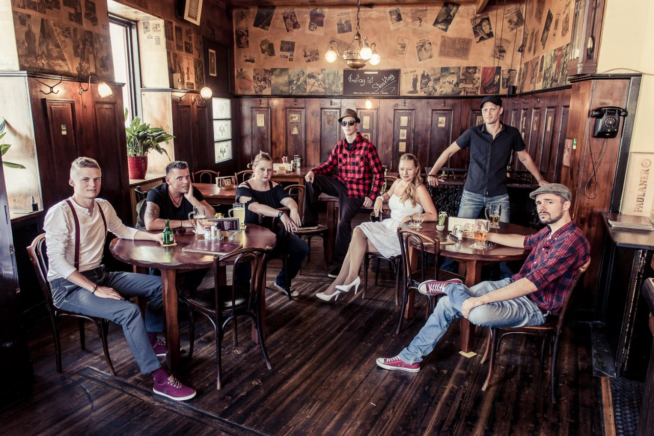 Band Fotoshooting Weanviertler