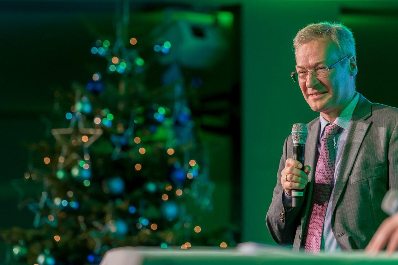 Weihnachtsfeier in der Allianz Arena