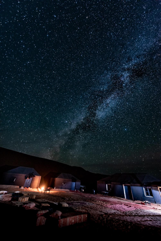 Sternenhimmel in Marokko